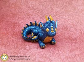 Blue Sea Dragon by whitemilkcarton
