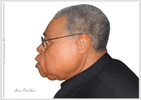 James Earl Jones by face-in-the-sky