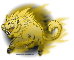 The Golden Boar by Naeomi