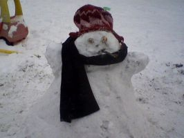 Fugly the Snowman by Creativity-Squared