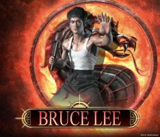 Mortal Kombat DLC Bruce Lee by ultimate-savage