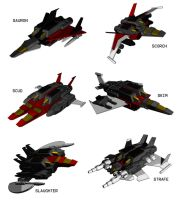 SWOOP'S SQUADRON by F-for-feasant-design