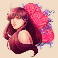 Sailor Mars by KenryChu