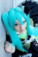 Miku Cosplay Story of Evil by Cytanin