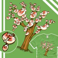 Rabbit Family Tree by amegoddess