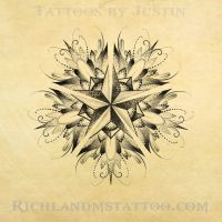 Mandala dot work tattoo design by jacksonmstattoo
