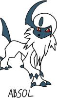 Absol by tanlisette