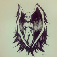 skull woman by just4nna