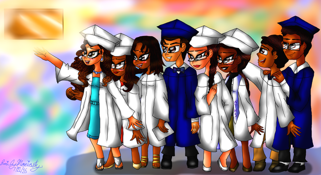 Reaching the Golden Diploma: The Class of 2k16 by lollypop081