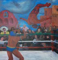 Luchadores by NateTheKnife