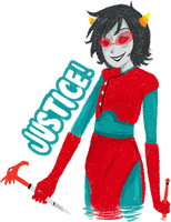 blind justice by Kumamor