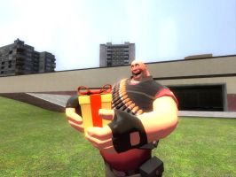 Heavy Receives A Gift by dylrocks95