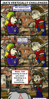 Jak's Vertically Challenged -Colored- by LightEcoSage1