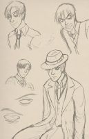 Daniel Sketches by sarahn