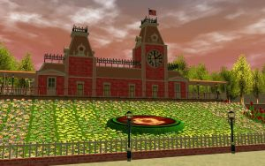RCT3 Main Street Station by Coasterdl