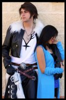 Squall and Rinoa III by alsquall