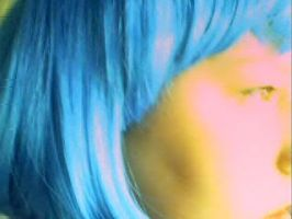 Blue Profile by earthly-delight