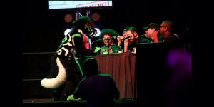 Tzuki at Anthrocon 2014 Dance Competition by Yamishizen