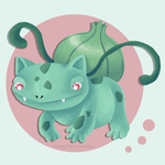 Bulbasaur by LauraBev