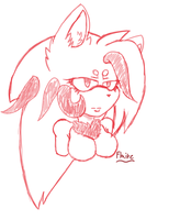 Flaire the hedgehog by Mialindlen-son