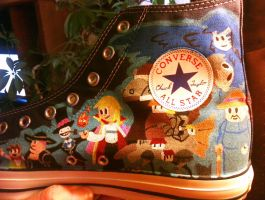 Ghibli Shoes- Howl's Moving Castle by clmcmillion