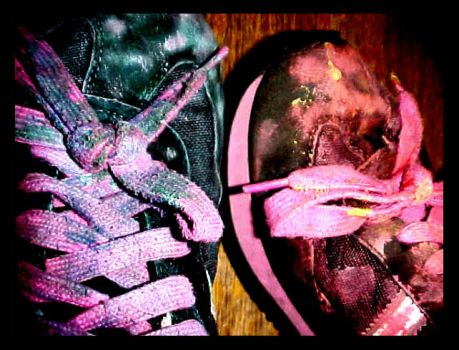 Painted Laces by SKAnkLikeUmeanIT
