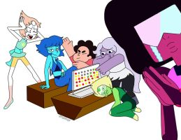 Draw the squad-Gems by popinat