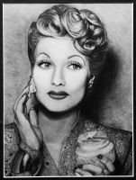 Lucille Ball by Rachael-Lee