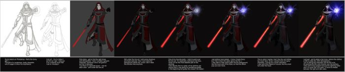 Sith Inquisitor 2 steps by Dolmheon
