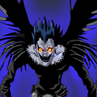 Ryuk - Death Note by Neptunusz