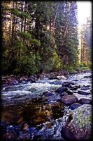 Mountain Stream by BAGilligan