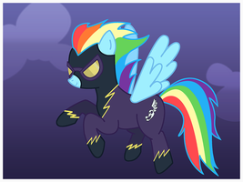Rainbow Dash: Shadowbolt by ScootLoops