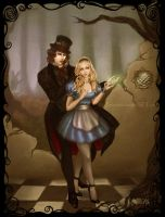 Vampires In Wonderland by Zephyrhant