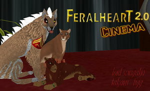FeralHeart Movie Night event! by T-i-g-g