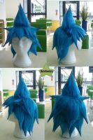 Wig Commission - Black Star by kyos-girl