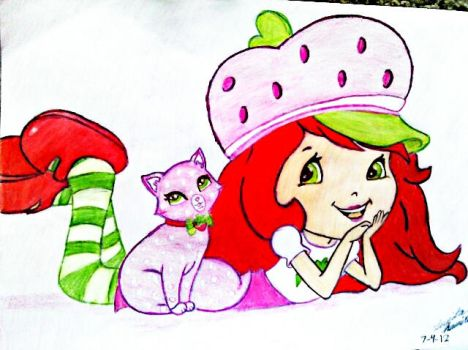 Strawberry Shortcake by meowmeow52