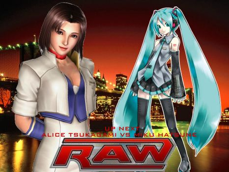 ACW Raw - Alice vs Miku by thephilipvictor