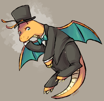 P: Dragonite by TheKnysh
