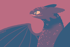 Toothless by Chigle