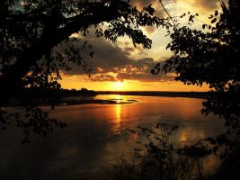 african sunset 5 by Mofazio