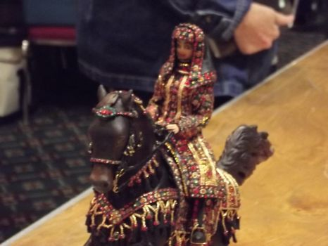Arabian horse and costume by LazyHcustomtack