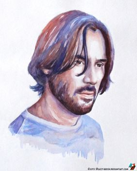Portrait of John Wick by lazy-brush