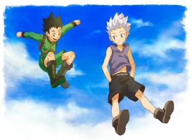 HxH - Jump by lychi