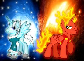 MLP - The Miser Brothers by Inkheart7