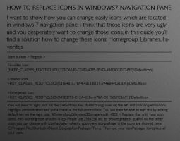 Windows 7 - Navigation Pane by X-Theory