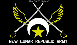 New Lunar Republic Army Flag by lonewolf3878