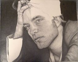 Robert Pattinson WIP 3 by Anthony-Woods