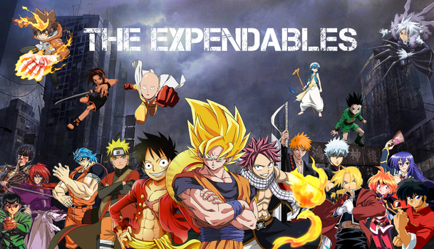 Anime Mix - The Expendables by NekoTheOtaku