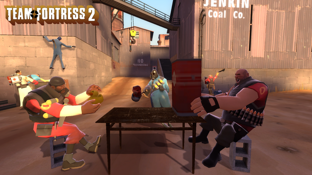 Team Fortress 2 Wallpaper by natman87