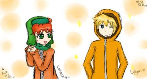 iS Random Kyle and Kenny by Lorelay-Papillon